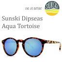 サンスキー サングラス Dipseas/Aqua Tortoise sunski サングラス 偏光サングラス【s0】
