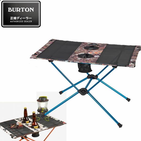 BURTON バートン キャンプテーブル CAMP TABLE ONE -DAY TRIPPER ヘリノックス ビッグアグネス コラボレーション 16705101264 折り畳みテーブル アウトドア【s0】