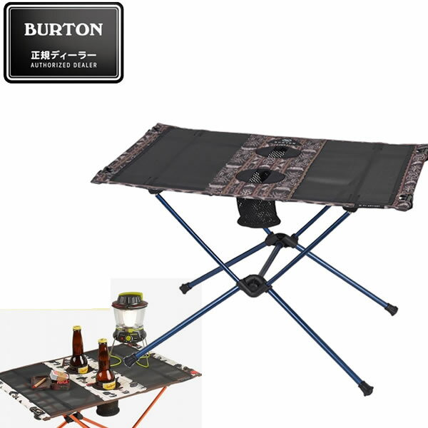 BURTON バートン キャンプテーブル CAMP TABLE ONE -GUATIKAT ヘリノックス ビッグアグネス コラボレーション 16705101265 折り畳みテーブル アウトドア【s0】
