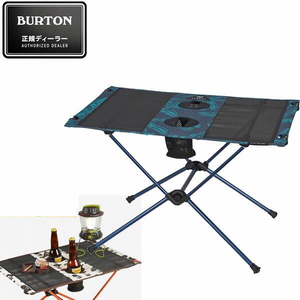 BURTON バートン キャンプテーブル CAMP TABLE ONE -TROPICAL ヘリノックス ビッグアグネス コラボレーション 16705101444 折り畳みテーブル アウトドア【s0】