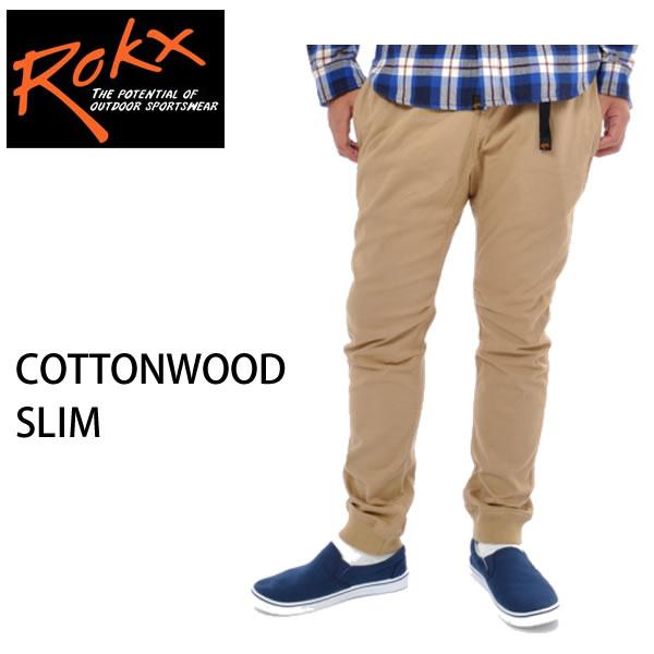 rokx ロックス クライミングパンツ  COTTONWOOD SLIM コットンウッド スリム CHINO RXMF6104 rokx クライミングパンツ【s3】