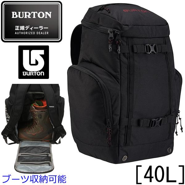 バートン バックパック 18FW BOOTER PACK 40L True Black (11036104002) ブーツ収納可能 ブーターパック バートン リュック burton リュック 【s5】