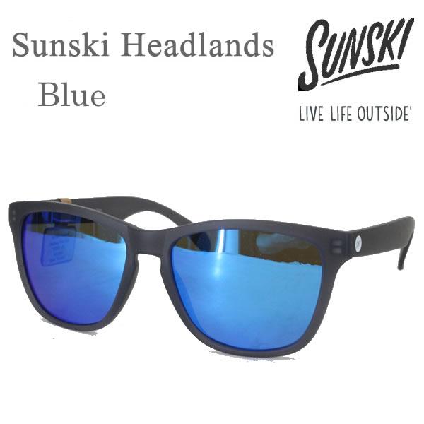 サンスキー サングラス Headlands Matte Slate Blue-Polarized SUN-HL-BL sunski サングラス 偏光サングラス コンパクト便可能【K1】【s7】