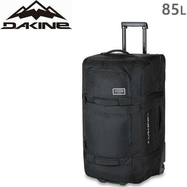 ●今ならおまけ付き● DAKINE キャリーバッグ 18SS SPLIT ROLLER 85L Black ダカイン スプリットローラー 旅行バッグ 大容量 スーツケース キャリーケース 旅行用かばん 機内持ち込み不可【代引不可】【s5】