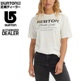バートン ティーシャツ 半袖 DURABLE GOODS Short Sleeve/Stout White 日本正規品 BURTON Tシャツ【K1】【N1】【K1】