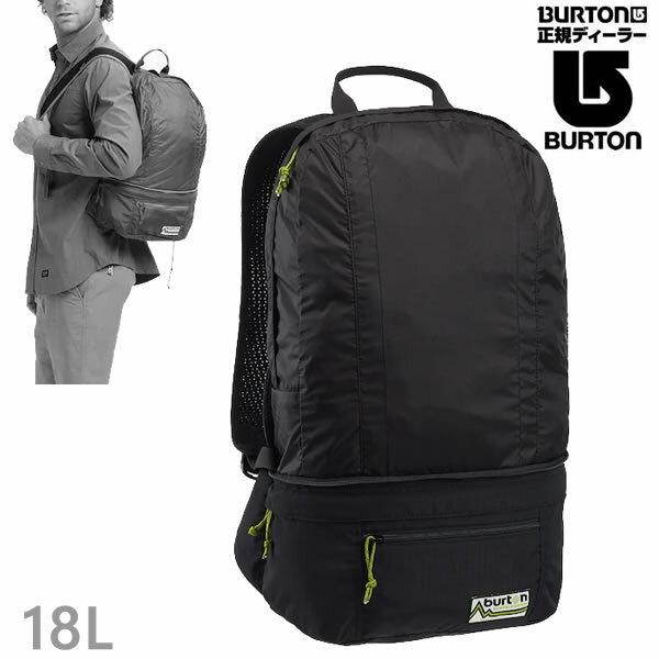 バートン リュック BURTON SLEYTON PACKABLE HIP 18L/True Black バックパック ヒップバッグ BURTON 日本正規品【C1】【s3】