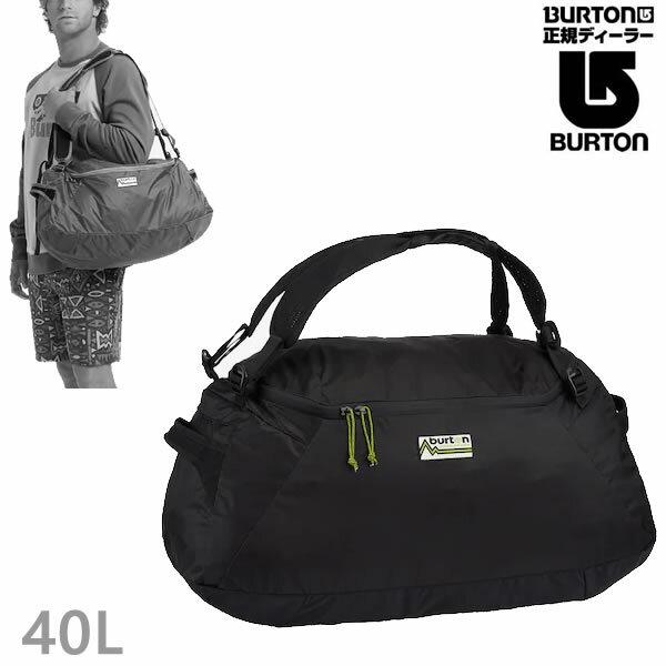 バートン パッカブル ダッフルバッグ BURTON MULTIPATH PACKABLE 40L DUFFEL BAG/True Black バッグ BURTON 日本正規品【C1】【s3】