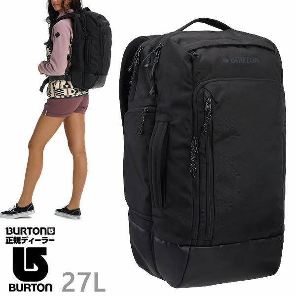 バートン リュック BURTON MULTIPATH 27L Travel BAG/True Black Ballistic バックパック バッグ BURTON 日本正規品【s3】