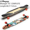 ポイント5倍 ロングスケートボード ローデッド バングラ Bhangra V2 コンプリート ロンスケ スケボー loaded SKATE b…