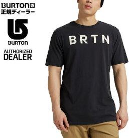 バートン ティーシャツ 半袖 BRTN Short Sleeve/TRUE BLACK 日本正規品 BURTON Tシャツ【K1】【N1】【K1】