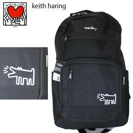Keith haring キースへリング バッグ リュック KH1901 フロントポケットバッグ ブラックドッグ キースヘリング  BACKPACK 日本正規品【C1】