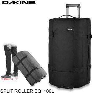 ●今ならおまけ付き● DAKINE キャリーバッグ SPLIT ROLLER EQ 100L Black BA237245 BLK ダカイン スプリットローラー 旅行バッグ 大容量 スーツケース キャリーケース 旅行用かばん 機内持ち込み不可
