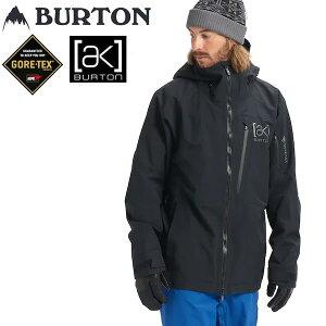 バートン 21-22 スノーボードウェア メンズ ゴアテックス ジャケット ak GORETEX 2L CYCLIC -jacket /TRUE Black GORE-TEX BURTON【スノーボード・ウエア・スノボー用品】【C1】