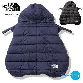 【即納】ノースフェイス ベビー シェル ブランケット Baby Shell Blanket ベビー キッズ 膝掛け 着る毛布 ナイロン ダウン 防寒 軽量 防水 中綿 THE NORTH FACE ザノースフェイス northface NNB71901【2021秋冬新作】