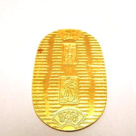 【中古】 K24/純金 徳力 小判10g 日本橋徳力刻印 FS Bランク