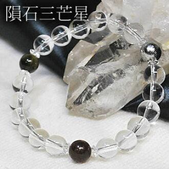 Sahara NWA869 meteorite × Gibeon (meteorite) (Silver) × Moldavite x natural  this crystal 5A < natural stones bracelet, power stone > × 1