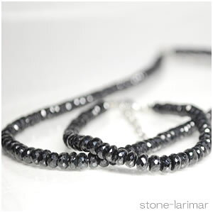 宝石質ブラックスピネルAAA カット<天然石ペンダントトップ/ネックレス・パワーストーン>