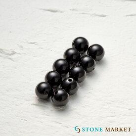 【8mm/10粒/オニキス】クールなブラックの天然石・メンズアクセサリーのパーツとして人気♪ルース ストーンマーケット