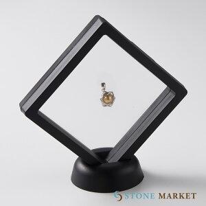 六芒星シンプルデザインメテオライトペンダントトップ ディスプレイケース付き(スウェーデン産) ストーンマーケット メテオライト