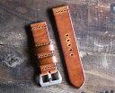 STONEWALL for PANERAI Strap #ヴィンテージウィスキーxブラウン パネライ専用 時計ベルト 22mm 24mm 26mm 40mm 44mm …