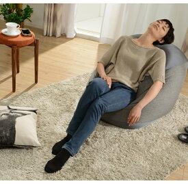 ★送料無料★ 特大 ビーズクッション マイクロビーズ Lサイズ 洗える カバー ソファ 座椅子 ジャンボ ビーズ クッション 大きい
