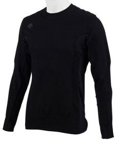 【公式】デサントゴルフ 【g-arc collection】メリノウール×ヒートナビセーター メンズ ウェア セーター フリース ニット ゴルフ スポーツ DGMOJL01