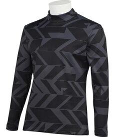 【公式】[クーポン利用でさらに10%OFF]デサントゴルフ デルタヒートナビ裏起毛TORIプリントシャツ メンズ ウェア シャツ ポロシャツ ゴルフ スポーツ DGMQJB07