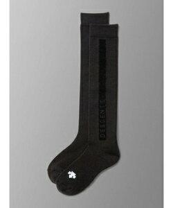 【公式】[最大20%OFFクーポン実施中] デサントゴルフ ウール混 シーズンハイソックス レディース アクセサリー 小物 ソックス 靴下 ゴルフ スポーツ DGCQJB00