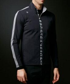 【公式】デサントゴルフ ストレッチナイロンロゴプリントジャージージャケット【UV】 メンズ ウェア ジャージ スウェット ゴルフ スポーツ DGMRJL51