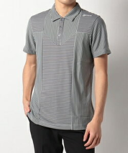 【公式】 スリクソン ランダム細線ボーダーシャツ メンズ ウェア シャツ ポロシャツ ゴルフ スポーツ RGMRJA12