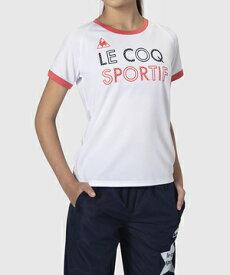 【公式】[最大20%OFFクーポン実施中] ルコックスポルティフ 半袖シャツ ジュニア キッズ ウェア tシャツ トレーニング スポーツ QMJQJA11