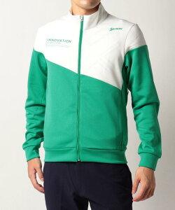 【公式】スリクソン バイアス切替デザイントラックジャケット メンズ ウェア ジャケット ブルゾン ゴルフ ゴルフウェア スポーツウェア RGMSJL50