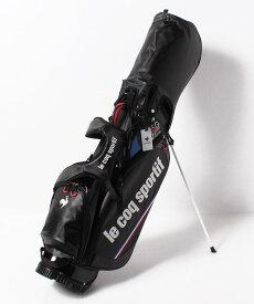 【公式】ルコックスポルティフ ゴルフ 【取扱店舗限定】キャディバッグ メンズ バッグ キャディバッグ ゴルフ ゴルフウェア スポーツウェア QQBSJJ10NT