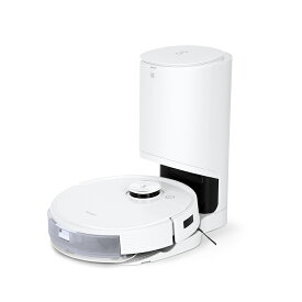 ロボット掃除機 DEEBOT T9+ 高性能 D-ToF マッピング機能 自動ゴミ収集 水拭き機能 芳香剤内蔵 お掃除ロボット メーカー1年間保証