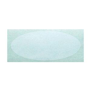 透明PETシール 大 5×2.6cm 500枚包装紙やギフトボックスの封印に。ラッピングの邪魔にならない透明シール。ラッピング シール 透明 ギフト 封 業務用 店舗用 封印 封かん 丸型