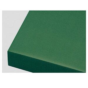 包装紙筋入クラフト 全判 グリーン 100枚表面に筋目が入った筋入り原紙に着色した、独特な風合いが特徴の商品です。紙ひもやリボンなどと組み合わせれば、味のあるギフトのできあがり!