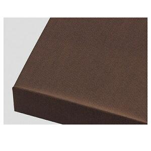 包装紙筋入クラフト 全判 ブラウン 100枚表面に筋目が入った筋入り原紙に着色した、独特な風合いが特徴の商品です。紙ひもやリボンなどと組み合わせれば、味のあるギフトのできあがり!