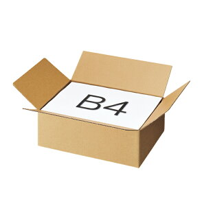 ダンボール 宅配サイズ 38.5×27.5×13cm 30枚宅配サイズに合わせたラインナップを品揃え!3辺合計60cm・80cm・100cm・120cmで宅配の料金規定に沿ってサイズを統一、A5・B5・A4・B4・A3・B3と入れる商品
