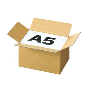 ダンボール 宅配サイズ 24.6×16.6×16.2cm 10枚宅配サイズに合わせたラインナップを品揃え!3辺合計60cm・80cm・100cm・120cmで宅配の料金規定に沿ってサイズを統一、A5・B5・A4・B4・A3・B3と入れる商