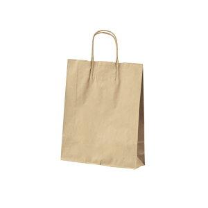 クラフト手提げ紙袋 丸ひも ローコストタイプ 茶無地 32×11.5×31cm 50枚サイズも豊富にご用意! よく使われるサイズをお求めやすい価格で。紙袋 袋 業務用 手提げ ラッピング 茶色 クラフト
