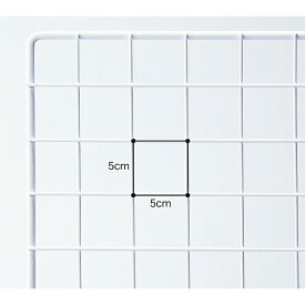 業務用ネット 白 60×150cm 1枚市販品に比べて、線材を外枠は直径8mm、ネット部分は直径3mmと太くしています。業務用 店 ディスプレイ ワイヤー業務用ネット メッシュパネル 網 ワイヤー業務用ネット 壁 キッチン 白