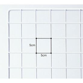 業務用ネット 白 75×90cm 1枚市販品に比べて、線材を外枠は直径8mm、ネット部分は直径3mmと太くしています。業務用 店 ディスプレイ ワイヤー業務用ネット メッシュパネル 網 ワイヤー業務用ネット 壁 キッチン 白