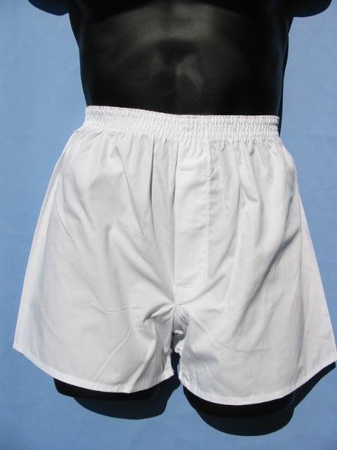 白のトランクス 日本製綿100% 前開き M〜LL やっと見つけたとお喜び頂いております。