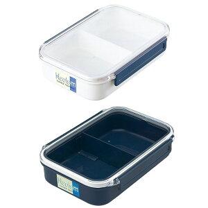 ランチボックス4号 ブルー 保存 容器 冷蔵 冷凍 弁当箱 衛生的 電子レンジ対応 持ち運び ランチボックス 行楽
