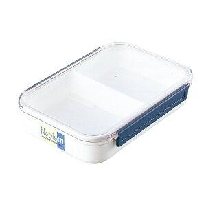 ランチボックス5号 ホワイト 保存 容器 冷蔵 冷凍 弁当箱 衛生的 電子レンジ対応 持ち運び ランチボックス 行楽