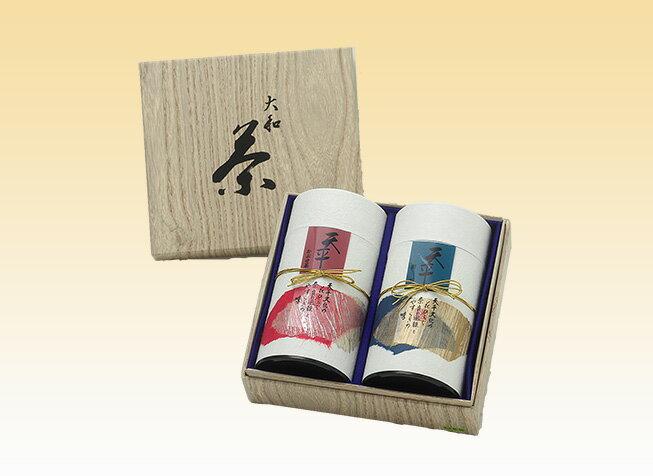 【送料無料】大和茶「かぶせ茶・煎茶」詰合せ奈良の名産 ギフト お取り寄せ