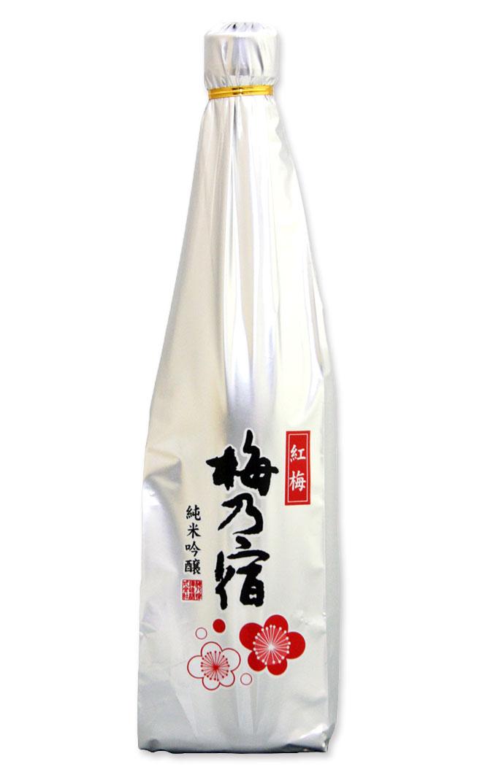 """梅乃宿酒造 純米吟醸 紅梅 720ml万葉の浪漫が香る大和の地で醸しました。コンセプトは""""いつもの晩酌酒です。奈良の地酒 日本酒"""