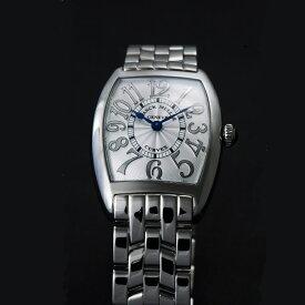 [フランクミュラー]新品・純正BOX付 FRANCK MULLER 腕時計 トノーカーベックス レリーフ/ステンレスブレス 1752QZ レディース 【並行輸入品・1年保証】