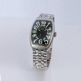 [フランクミュラー]新品・純正BOX付 FRANCK MULLER 腕時計 カサブランカ ブラック/ステンレスブレス 自動巻 6850CASA メンズ 【並行輸入品・1年保証】