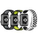 アップルウォッチ バンド スポーツバンド ベルト シリコン ベルト ペア 44mm 42mm sportsplus スポーツプラス apple watch series4 series3 series